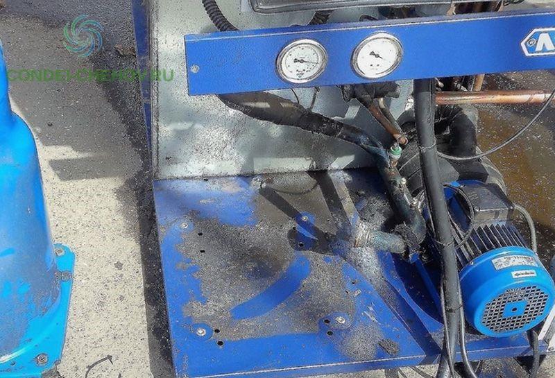 Демонтаж компрессора