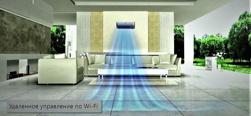 Удалённое управление кондиционера по Wi-Fi